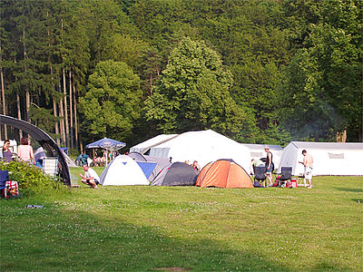 Camping am Sch�nsee