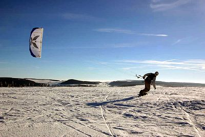 Wintersport - Snowkiting