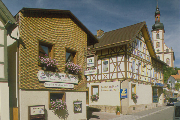 Cafe Am Markt Oberelsbach